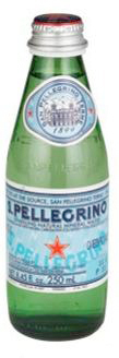 Mineral water S.Pellegrino (sparkling) 0.25 l.
