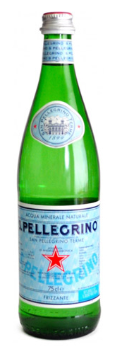 Mineral water S.Pellegrino (sparkling) 0.75 l.